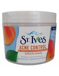 St. Ives Acne Control Apricot Scrub 10 oz (Pack of 3)