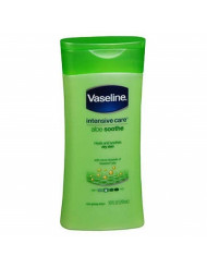 Vaseline Intensive Care Lotion 10 Ounce Aloe Soothe (Dry Skin) (295ml) (2 Pack)