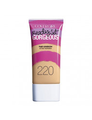 COVERGIRL Ready Set Gorgeous Foundation Soft Honey 220, 1 oz (packaging may vary)