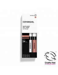 Covergirl Outlast All-Day Lip Color With Topcoat, Spiced Latte