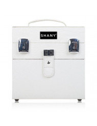 SHANY Color Matters - Nail Accessories Organizer and Makeup Train Case - White Lily