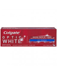 Colgate Optic White Toothpaste, Icy Fresh, 3.5 Ounce (Pack of 6)