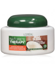 L'Oreal Nature's Therapy Mega Sleek Deep Conditioning Creme, 8 Ounce