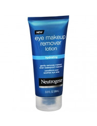 Neutrogena Hydrating Eye Makeup Remover Lotion, 3 Oz. (Pack of 2)