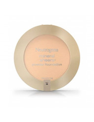 Neutrogena Mineral Sheers Compact Powder Foundation, Lightweight & Oil-Free Mineral Foundation, Fragrance-Free, Buff 30,.34 oz (Pack of 2)