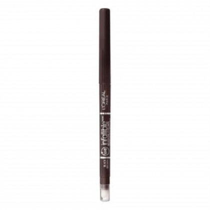 L'Oreal Paris Infallible Never Fail Eyeliner, 581 Black Brown (Pack of 2)