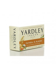 Yardley of London Naturally Moisturizing Bath Bar - 4.25 Oz Bar (Pack of 8) (Oatmeal & Almond)
