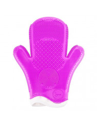 Sigma 2X Spa Brush Cleaning Glove -Option Purple