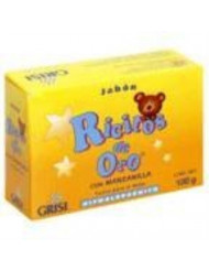 Grisi Ricitos De Oro Hypoallergenic for Babies Bar Soap 3.5 oz (Pack of 6)