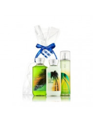 Bath & Body Works Coconut Lime Breeze Gift Set - All New Daily Trio (Full-Sizes)