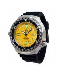 XXL 52mm - 1000m -Military Diver Watch Tauchmeister with Sapphire Glass and Helium velve T0314