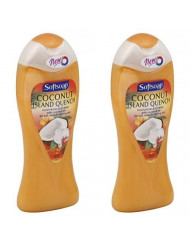 Softsoap Moisturizing Body Wash, Coconut Island Quench 15 oz (Pack of 2)