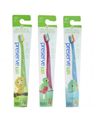 Preserve Kids Toothbrush 6-pk, Ages 2 to 8