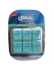 Oral-B Pro-Health Comfort Plus Mint Floss, Mint, Pack of 6