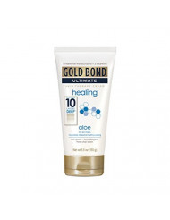 Gold Bond Ultimate Skin Therapy Cream, Healing, Aloe, 5.5 Ounce (Pack of 6)
