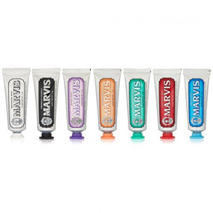 Marvis Toothpaste Flavor Collection Gift Set, 7 Count