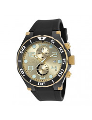 Invicta Men's 17815 Pro Diver Two-Tone Stainless Steel Watch with Black Band
