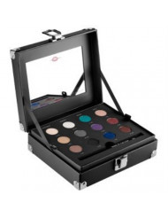 Make up for Ever Studio Case ~ a Set of 12 Artist Shadows, a Step-by-step Guide, and a Full-size of the Artist Liner for Creating Four Holiday Eye Looks.
