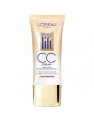 L'Oreal Paris Visible Lift CC Cream, Light/Medium 1 oz (Pack of 2)