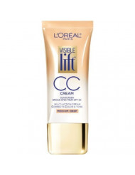 L'Oreal Paris Visible Lift CC Cream, Medium/Deep 1 oz (Pack of 2)