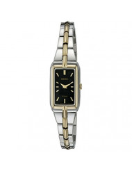 Seiko Women's SUP274 Analog Display Analog Quartz Two Tone Watch