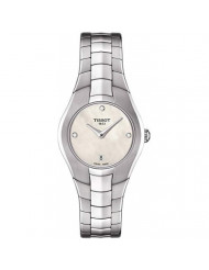 Tissot Mother of Pearl Dial Stainless Steel Quartz Ladies Watch T0960091111600