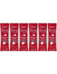 Colgate Optic White Express White Whitening Toothpaste - 3 ounce (6 Pack)