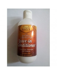 Simply Shea Leave-in Conditioner with Organic Shea Butter (Paraben-free) 8oz