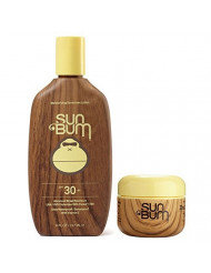 Sun Bum SPF 30 8oz Lotion + Clear Zinc Oxide