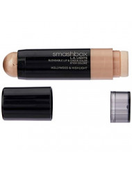 Smashbox L.A. Lights Blendable Lip and Cheek Color Lipstick, Hollywood and Highlight, 0.17 Fluid Ounce