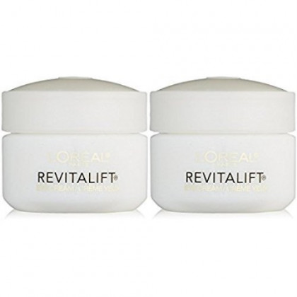 L'Oreal Paris RevitaLift Anti Wrinkle + Firming Eye Cream, 0.5 Ounce (Pack of 2)