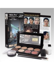 Mehron Mini-Pro Student Makeup Kit MEDIUM/OLIVE MEDIUM - Theater and Stage