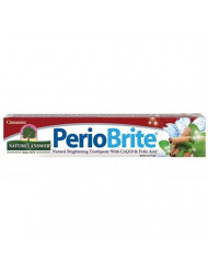 Nature's Answer Periobrite Natural Cinnamint Toothpaste | Soothes & Refreshes | Alcohol-Free, Gluten-Free, Flouride-Free Soy-Free & Vegetarian | No Artificial Sweetners or Preservatives 4oz (2 Pack)