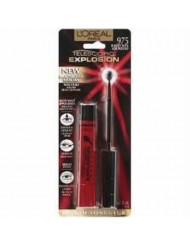 L'oreal Paris Telescopic Explosion Mascara, 0.27-fluid Ounce .Blackest Black-975,pack of 2