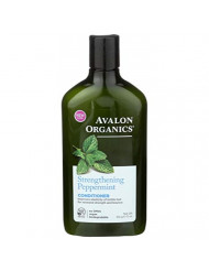 Avalon Organics Conditioner Strengthening Peppermint, 11 oz