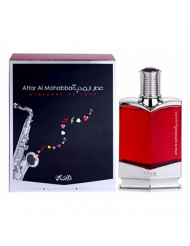 Attar Al Mohabba Symphony of Love Parfum for Men 75ML (2.5 oz) | Romantic Fragrance Bottle | Sparkling Floral Notes with Musk and Patchouli | Signature Arabian Perfumery | by RASASI Perfumes