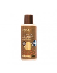 Mineral Fusion Bronze Body Oil Shimmer, Macadamia Nut, 3 Ounce (Packaging May Vary)