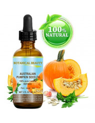 PUMPKIN SEED OIL Australian. 100% Pure / Natural / Undiluted / Refined Cold Pressed Carrier Oil. 2 Fl.oz.- 60 ml. For Skin, Hair, Lip and Nail Care.