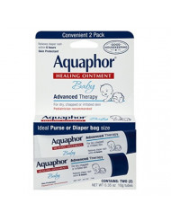 Aquaphor Baby Healing Ointment 0.35 Ounce 2 Count (10ml) (6 Pack)