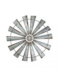 ELK Lighting 351-10515 Wall Sculpture, Galvanized Steel, Rust