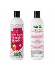 Snip-its Tangle Buster Detangling Kids Shampoo 12 oz | Gentle Hair Detangler - Great for Swimmers with Curly or Straight hair - Natural Kids Shampoo Made in the USA | Salon Quality. Kid Friendly.