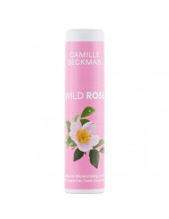 Camille Beckman All Natural Cocoa Butter Lip Balm, Wild Rose.25 oz (3 Pack)