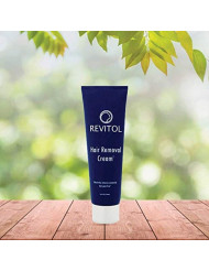 Revitol Hair Removal Treatment Cream - Remove Unwanted Hair Gentle and Fast - 1 Pack