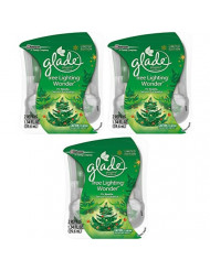 Glade Plugins Scented Oil Refill - Winter Collection 2017 - Tree Lighting Wonder - 2 Count Refills Per Package - Pack of 3 Packages