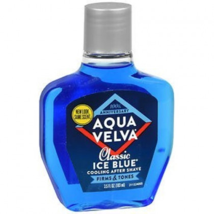 Aqua Velva Cooling After Shave Classic Ice Blue - 3.5 oz, Pack of 5