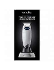 Andis Professional Cordless T-Outliner Beard/Hair Trimmer, 74000