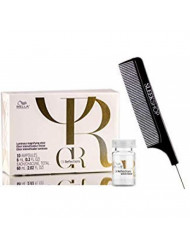 Wella OIL REFLECTIONS - Magnifying Elixir (with Sleek Steel Pin Tail Comb) (10 ampoules)