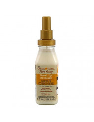 Creme Of Nature Pure Honey Leave-In Conditioner 8 Ounce Pump (236ml) (3 Pack)