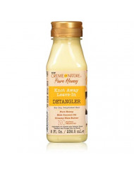Creme Of Nature Pure Honey Detangler 8 Ounce Leave-In (236ml) (3 Pack)