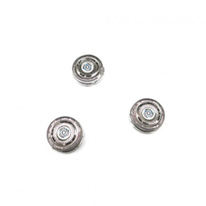 Set of 3 Replacement Shaver Heads for Replacing Philips Norelco SH70 S7310 7370 7530 7780